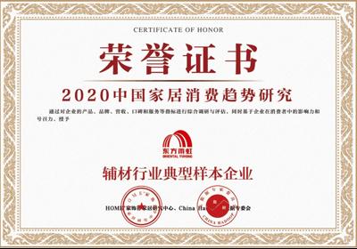 2020中国家居消费趋势研究辅材行业典型样本企业
