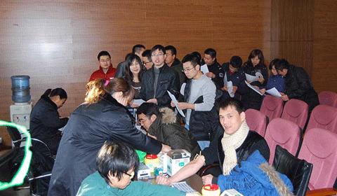 冬日暖阳暖人心——2009岁末东方雨虹员工献血纪实